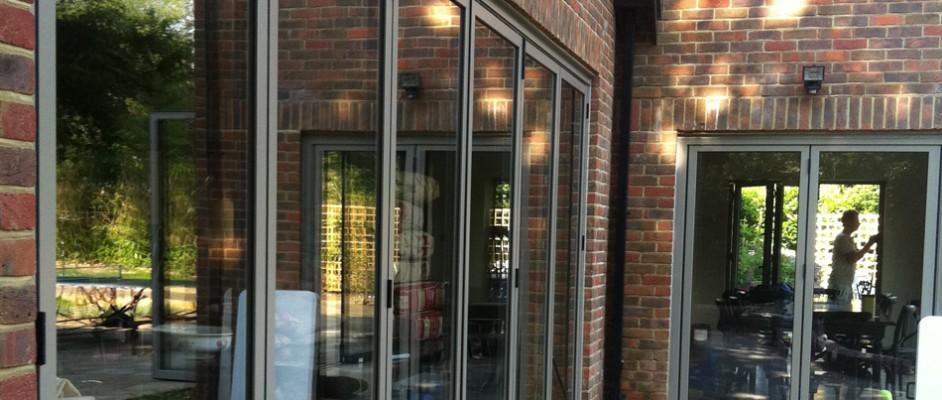 Bi-fold doors in Southampton, Hampshire