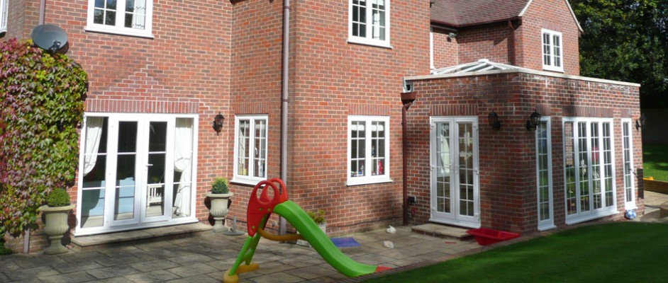Orangery and side extension, Petersfield