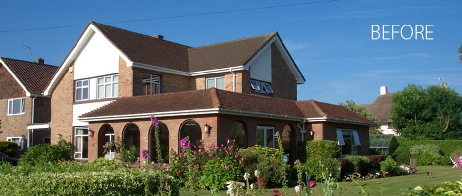 House refurbishment project, Bognor Regis.